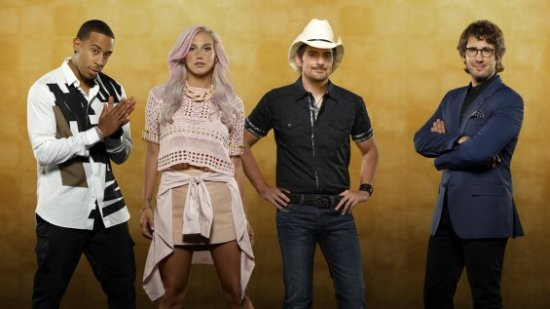 "Ludacris, Kesha, Brad Paisley and Josh Groban launched a new era of Realty TV with the premiere of ""Rising Star"". (Photo property of ABC)"