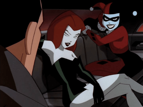 Poison Ivy and Harley Quinn The New Batman Adventures