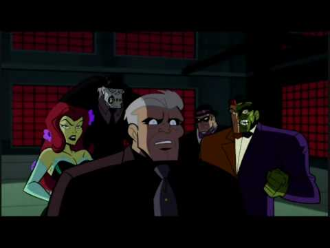 Several of Batman's greatest opponents were unhappy when they learned of Joe Chill's responsibilty of creating Batman (Artwork property of Warner Bros Animation and DC Entertainment)