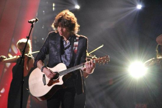 """Rising Star's"" reigning champ and Capitol Records artist Jesse Kinch tackled ""The Five Question Challenge."" (Photo courtesy of Jesse Kinch)"