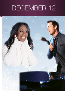 Chris Mann joined forces with Oleta Adams and the Kansas City Symphony for a special performance last night at the Kauffman Center for Performing Arts. (Photo property of the Kansas City Symphony)