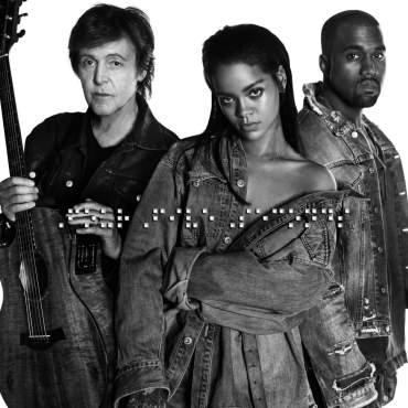 FourFive Seconds Rihanna Kanye West Paul McCartney
