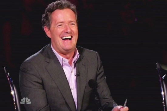 Piers Morgan returns to AGT
