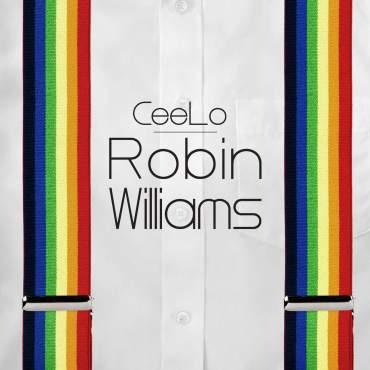 Cee Lo Green Robin Williams single cover