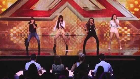 4th Impact Bang Bang X Factor UK audition