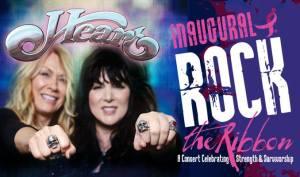Heart Inaugural Rock the Ribbon