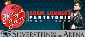 Adam Lambert Jingle Jam 2015 Mix 93.3