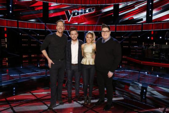 The Voice Season Nine Top 4