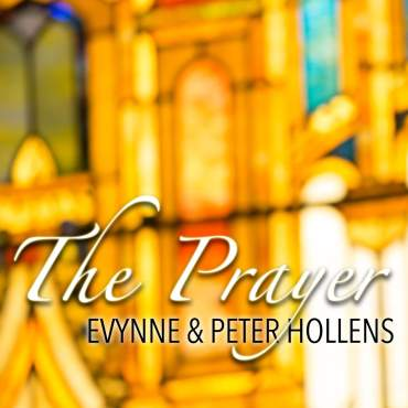 "Evynne & Peter Hollens' cover of ""The Prayer"" is a must download! (Album cover property of the Hollens)"