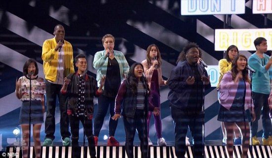 Musicality Vocal Group performs Born This Way