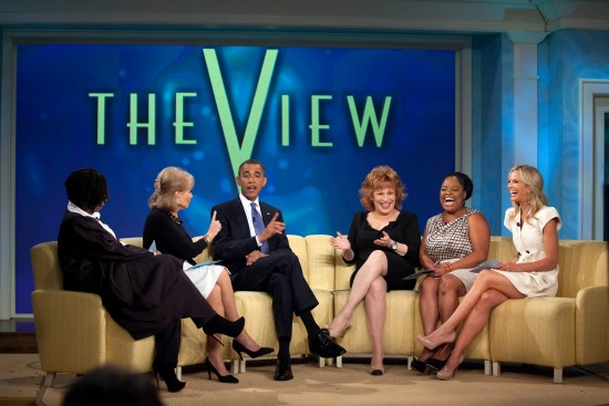 President Obama visits The View