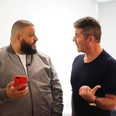 DJ Khaled meets Simon Cowell