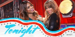 Laverne Cox and Tyra Banks