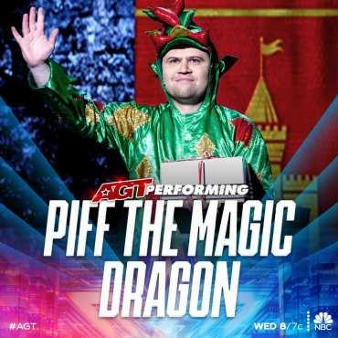 Piff the Magic Dragon AGT