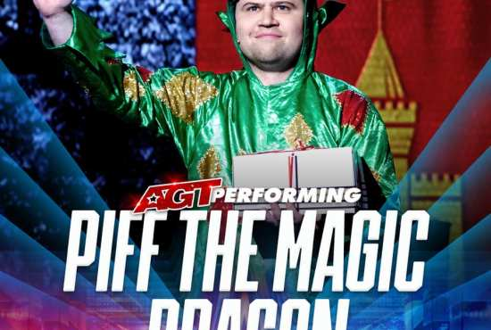 Piff the Magic Dragon AGT