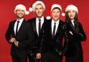 Collabro Christmas is Here group photo