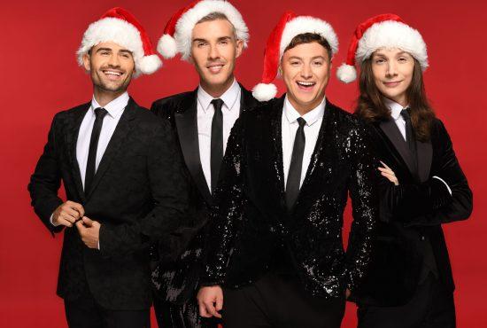 Collabro Christmas is Here group photo