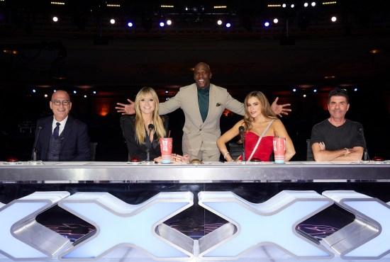 America's Got Talent on-air cast