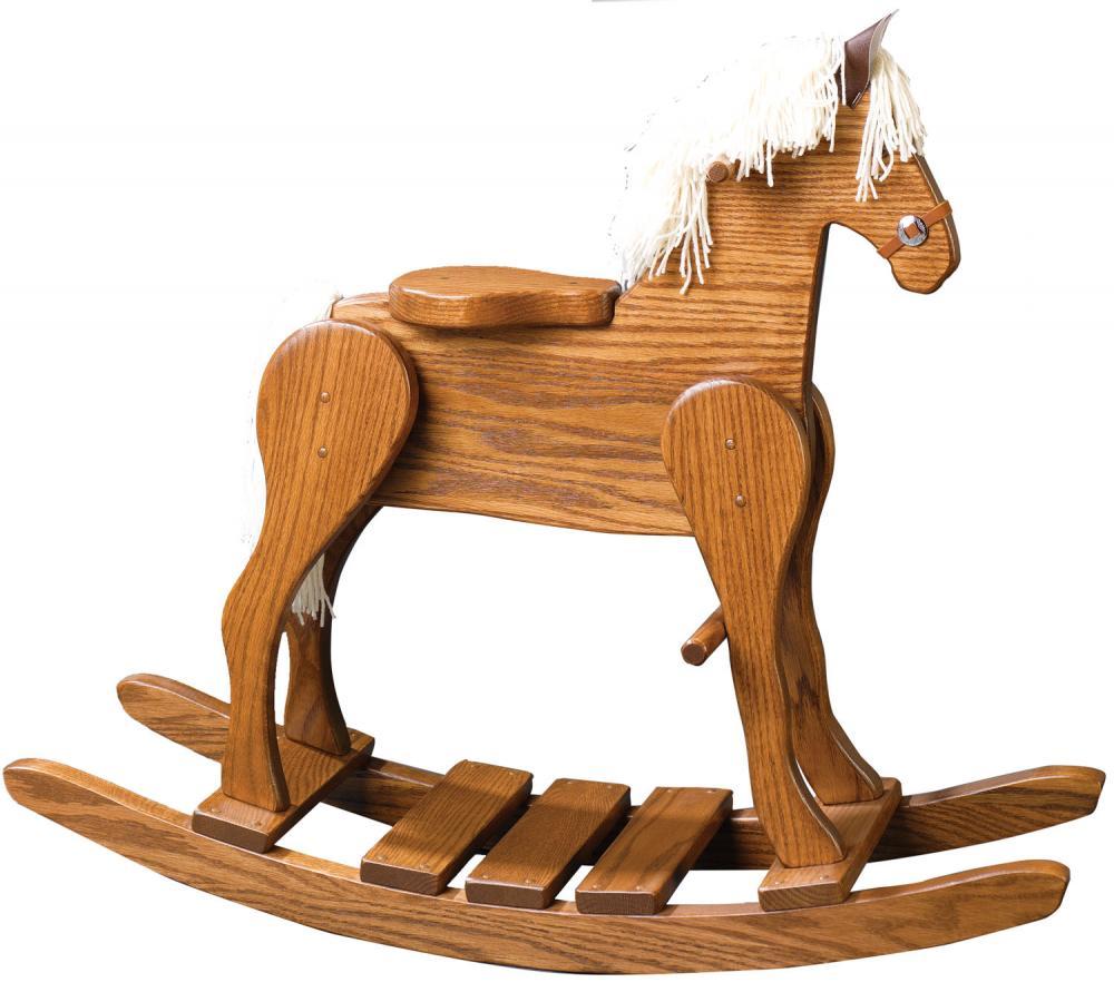Jakes Amish Furniture 10 25 Rocking Horse 22 High Seat