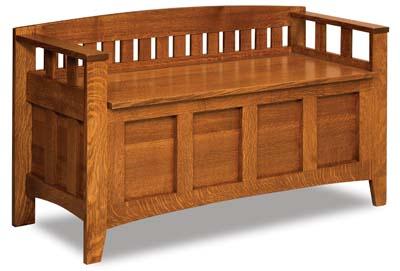 Jakes Amish Furniture Hetrick Mud Room Bench