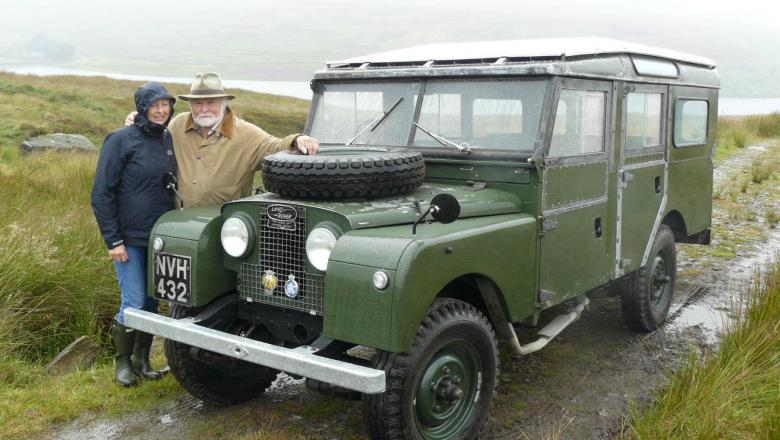 Land Rover Series 1 With Lord Savile And Lady Restoration By Jake Wrifght