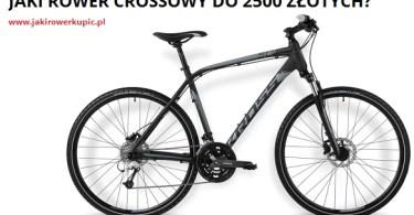 jaki rower crossowy do 2500 zł