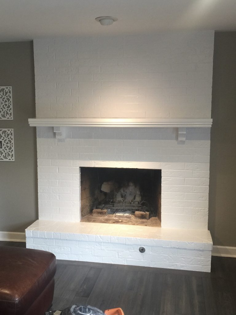 Should You Paint Your Brick Fireplace Jalapeno Paint Werx