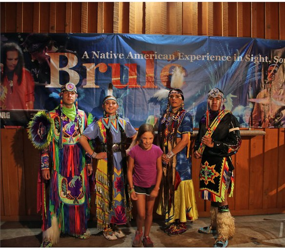 The Native American Group Brule'