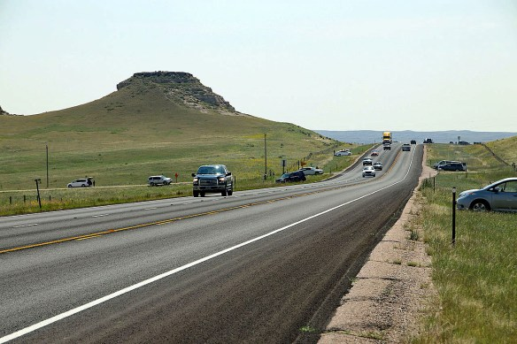 Now that the Eclipse is all but over... traffic on US Hwy 85 resumes.