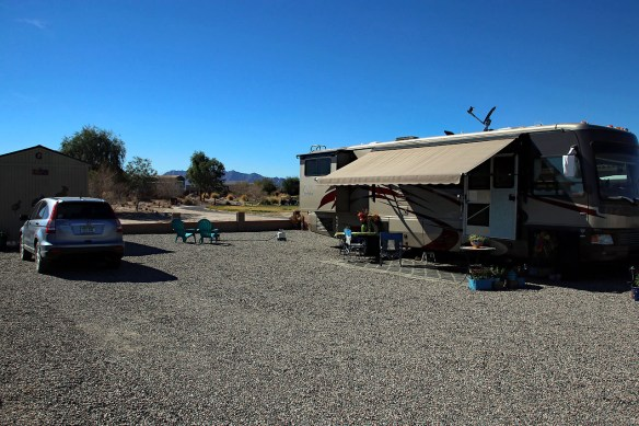 Coyote Wash Golf Course... Our winter home.