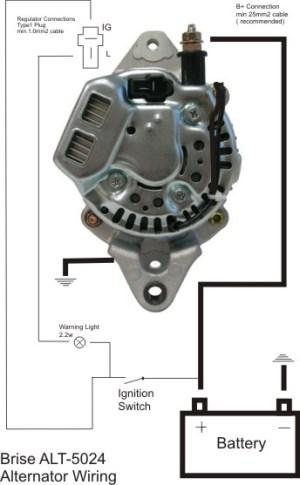 Hot Rods  Mini Denso Alternator? | The HAMB