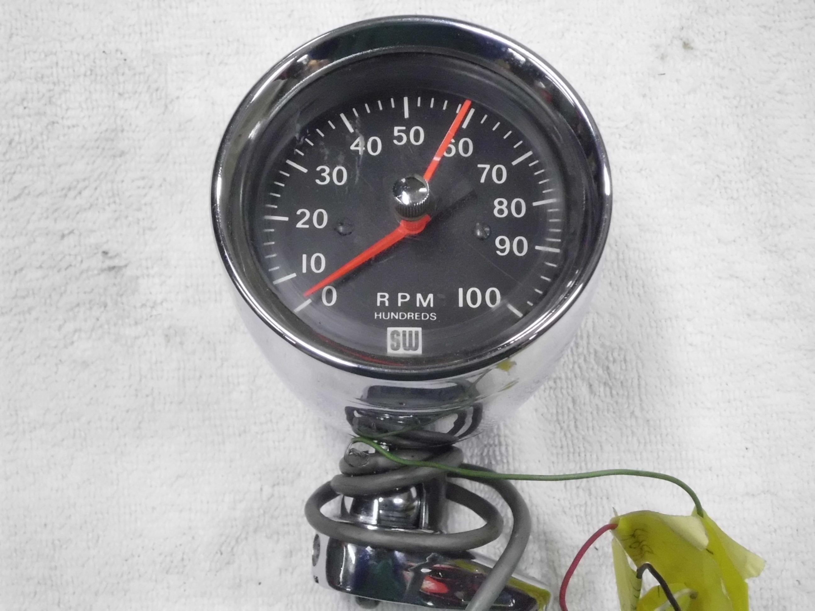 Stewart Warner Tachometer Wiring Diagram Free Download Wiring ...