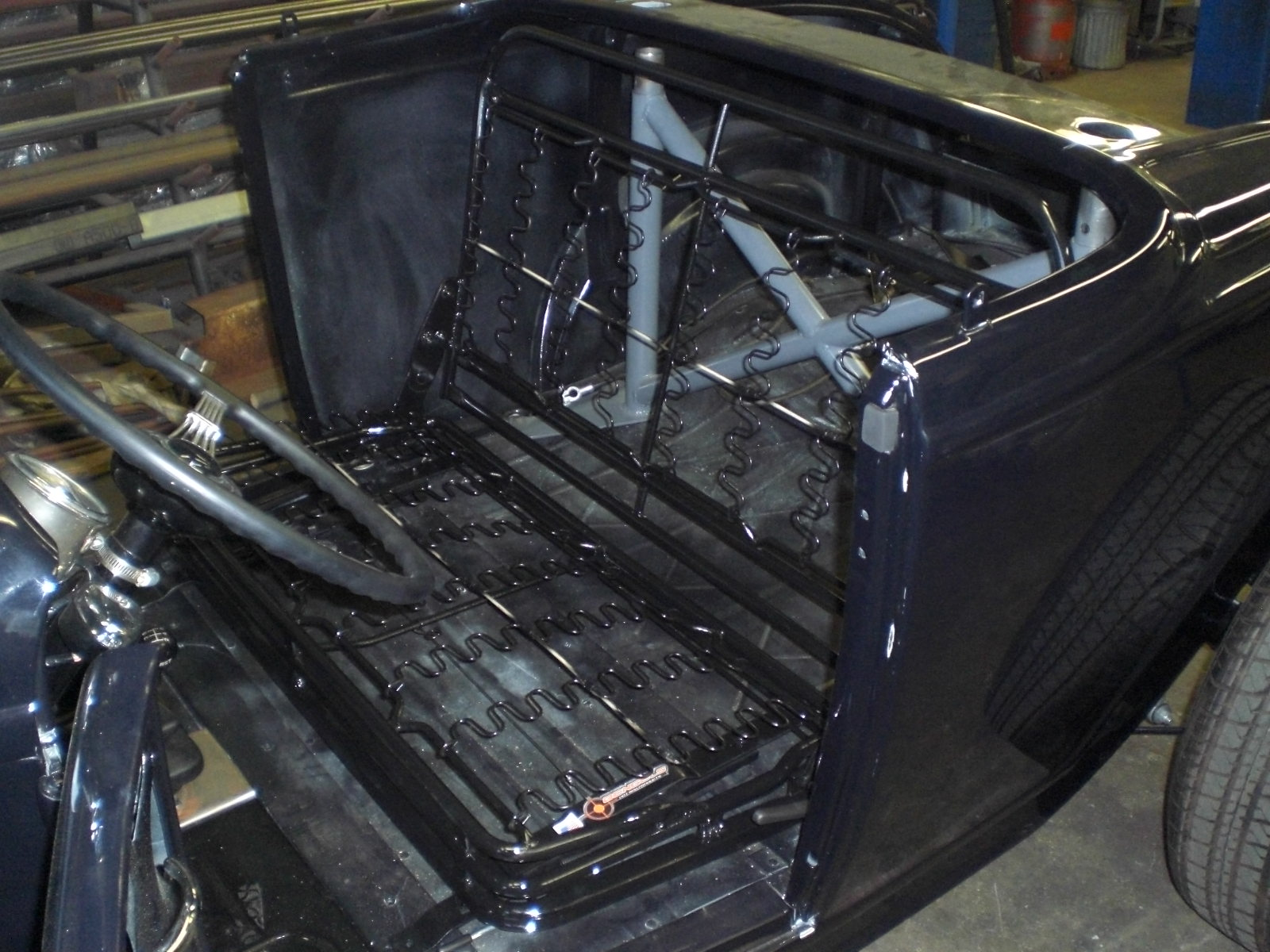 Hot Rod Seat Frames Model A Rollpans Bengels Hot Rod Prod