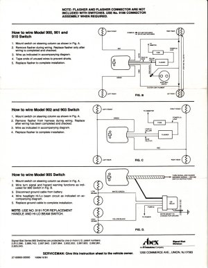 Hot Rods  Question: Yankee 7 Wire Turn Signal 734737