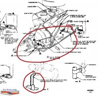 Technical  routing lines from TH350 to radiator | The HA