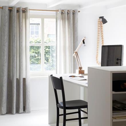 Möbel Wohnen Scheibengardine 145cm X 80cm Blickdicht