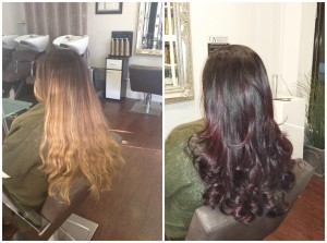 Colour change by Kate