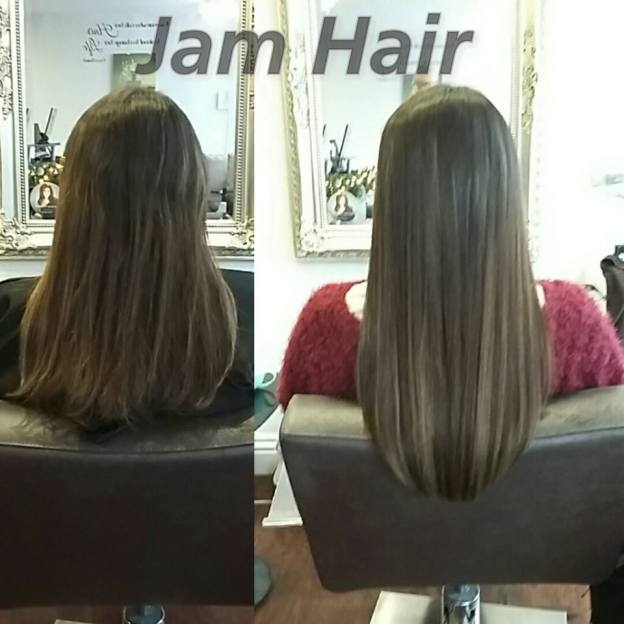 Fabulong hair extensions with Kate at JAM HAIR