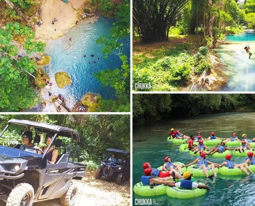 ULTIMATE ADRENALINE ADVENTURE (BLUE HOLE, ZIP, TUBE & BUGGY)