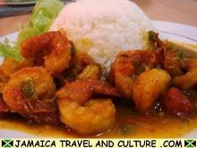 Curry Shrimp - Serving