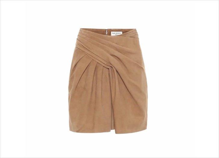 سان لوران باريس ميني تنورة ميني تنورة ميني تنورة خريف 2021 ملابس