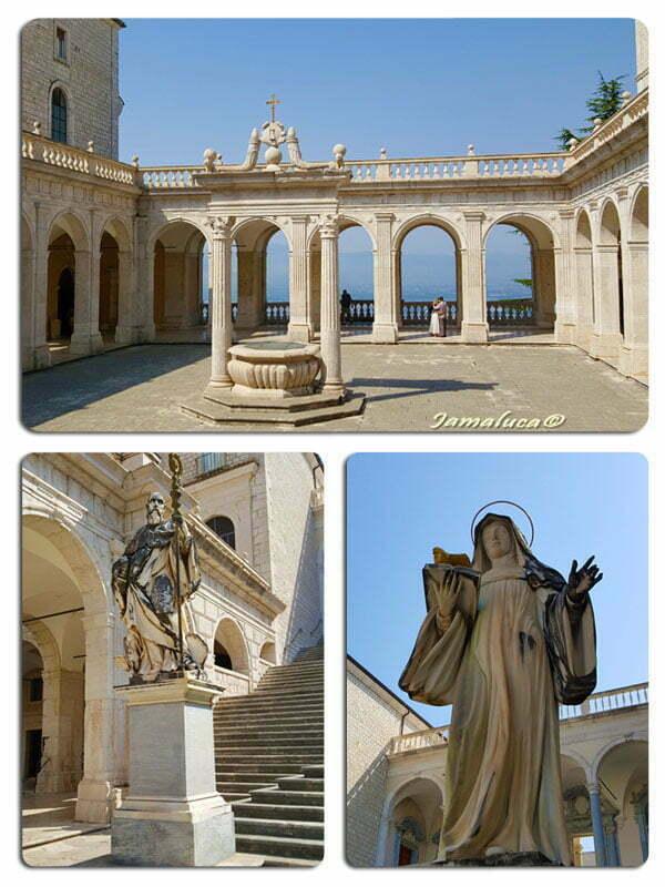 Abbazia di Montecassino - Chiostro di Bramante