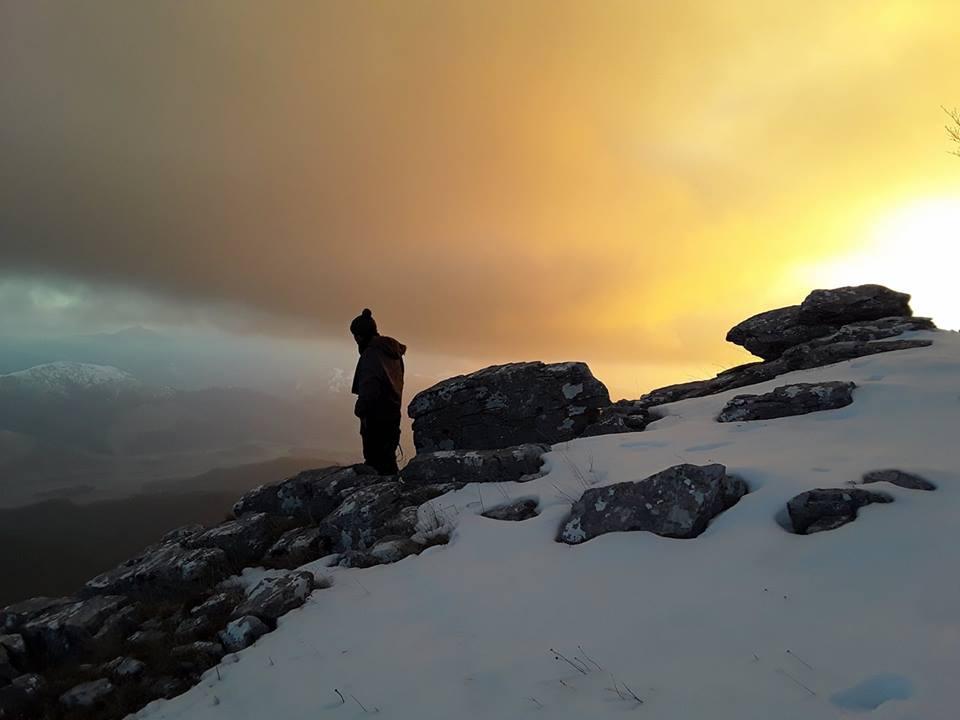 trekking nell'istmo di Catanzaro