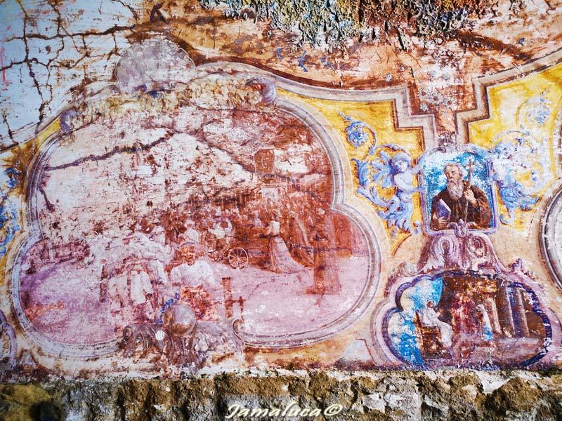 Chiesa di Piedigrotta - affreschi