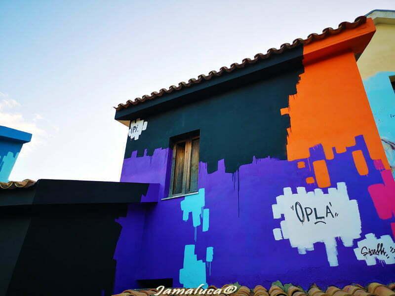 Street art a Savuci - Mimmo Rotella realizzato da Massimo Sirelli