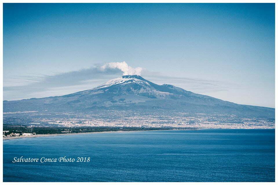 Siti Unesco in Sicilia - Etna in eruzione