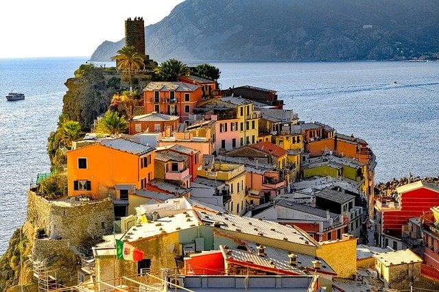 Vernazza borgo più bello d'Italia in Liguria