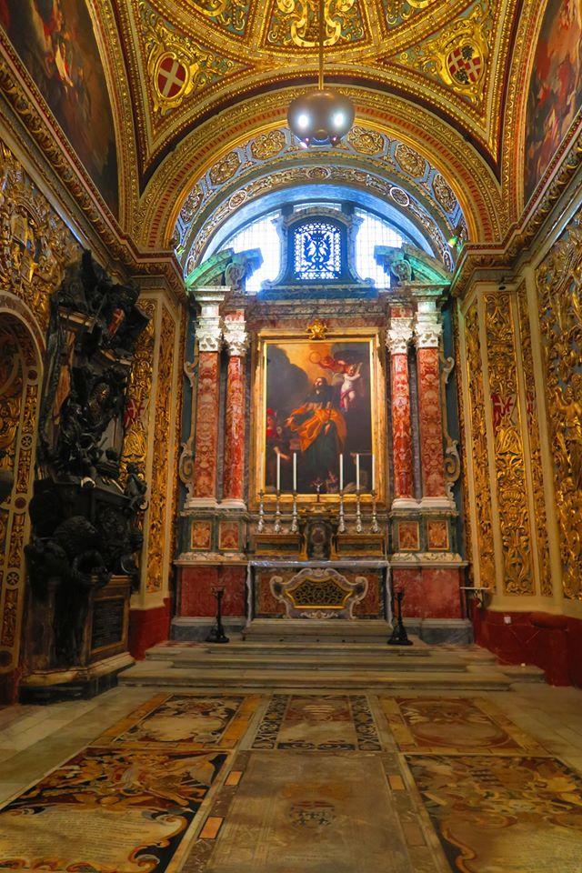 Mattia Preti Cappella San Giacomo Concattedrale San Giovanni a Malta