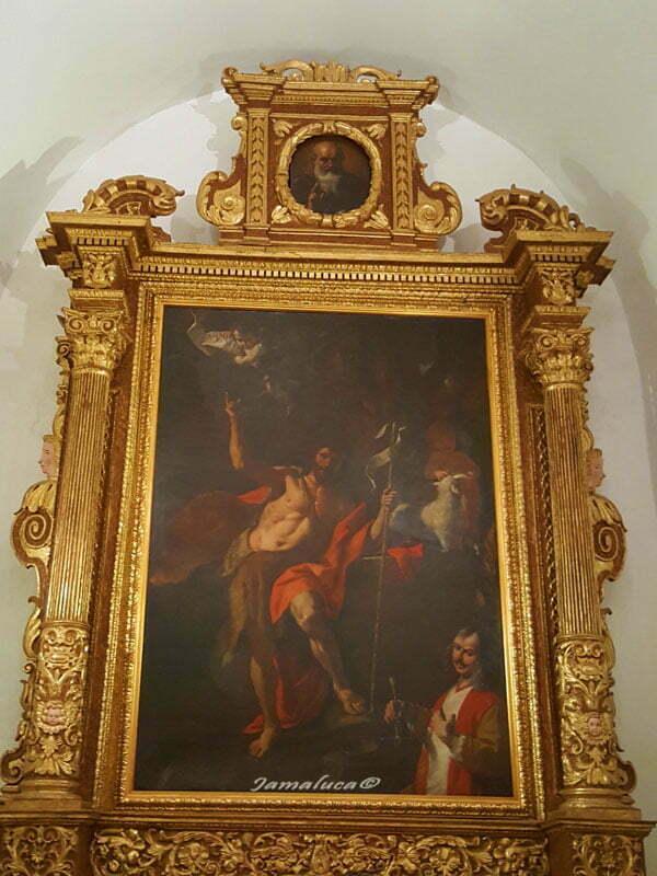Mattia Preti a Taverna autoritratto Chiesa di San Domenico