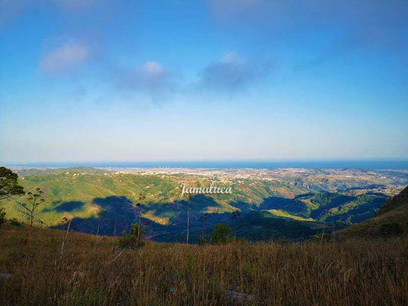 Vista su Catanzaro da Monte Tiriolo